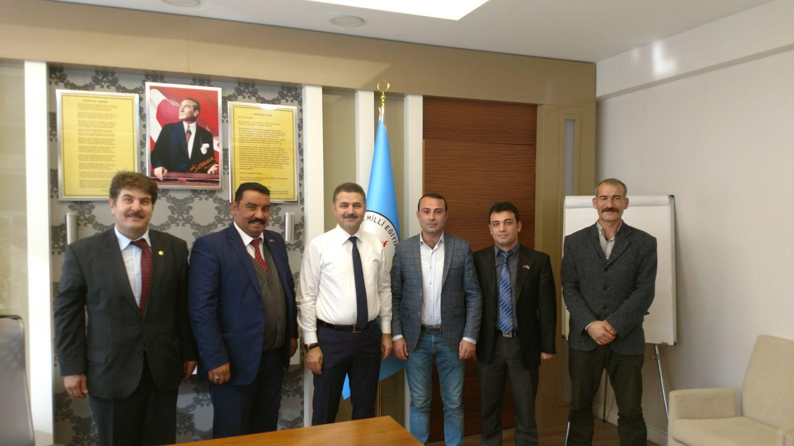 Antalya İl Milli Eğitim Müdürü ARSLAN'ı ziyaret ettik