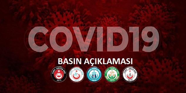 Koronavirüs Hakkında Basın Açıklaması