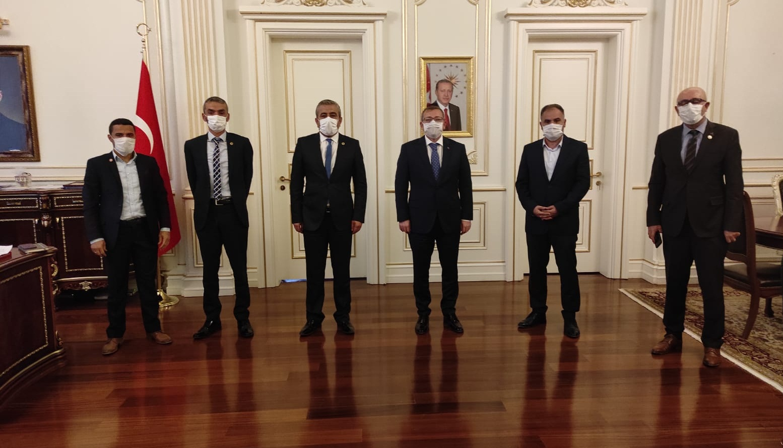 Yozgat Valisi Polat Eğitim sendikaları ile toplantı yaptı
