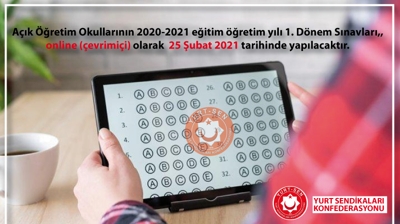 Açık Öğretim Sınavları Çevrimiçi olacak
