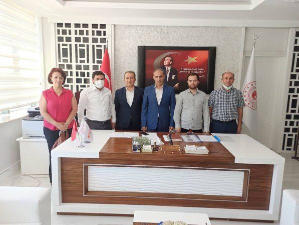 Konfederasyonumuz'dan Malatya Çevre Ve Şehircilik Müdürlüğüne Ziyaret